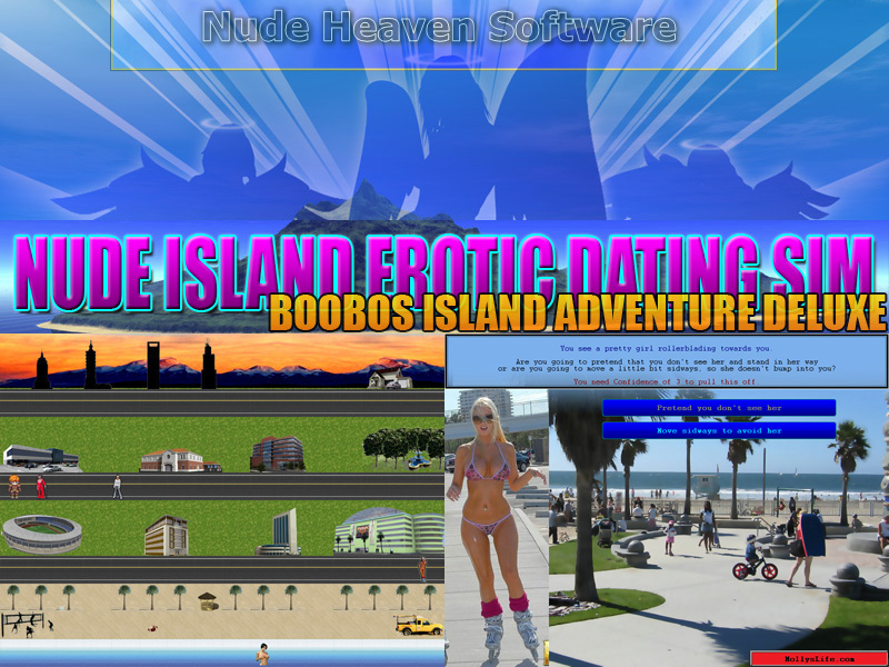 Nude Island Erotic Dating Sim